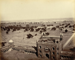 The [Red] Fort from the Jama Musjid, Delhi